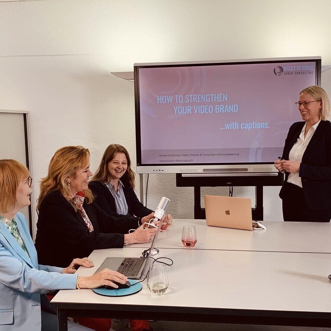 Nicole Detering Video Consulting SME Video Workshop in Zurich Switzerland